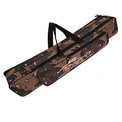 120cm Angelrute Tasche multifunktionale Tarnung Doppelschicht Außenangeltasche