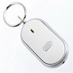 Schlüsselanhänger Kreisförmig Gute Qualität Prevent-Verlust / Pfeife Silber ABS