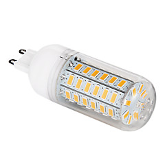 12W G9 LED-kolbepærer T 56 SMD 5730 1200 lm Varm hvid AC 220-240 V