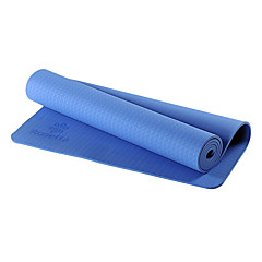 8Mm Blue Widening Thickened Maternal Mother Tpe Long Yoga Mats Yoga Mat