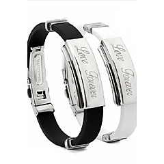 Personalized Unisex Fashion Bracelet Stainless Steel inspirational bracelets