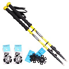 3 Sections Carbon Flip Lock Adjustable Hiking Trekking Poles