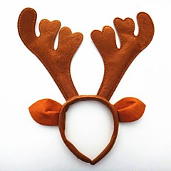 karácsonyi party aranyos szarvas agancs kalap haj fejpánt