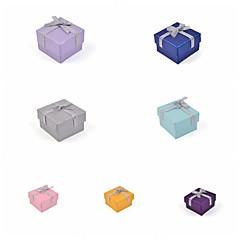 リボン弓紙リングボックス