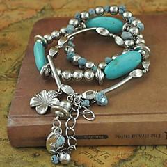 Fashionable Joker Multilayer Turquoise of Tassel bracelet