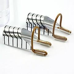 5db újrafelhasználható ezüst köröm védő formák akril tippek / uv zselé tippek