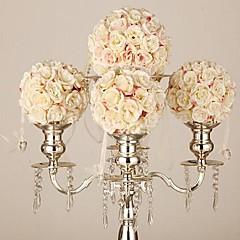 """bryllupet innredning 6 """"brudebukett kunstig blomst ball til pynt party (diameter 15 cm)"""