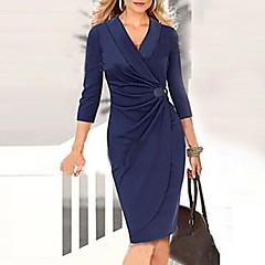 VICONE  Women's  ¾ Sleeve   Sexy Bodycon Slim Dresses