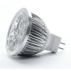 5W GU5.3(MR16) LED-spotlampen MR16 5 Krachtige LED 350-400 lm Warm wit DC 12 V