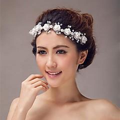 Dame / Blomsterpige Legering Headpiece-Bryllup Diademer