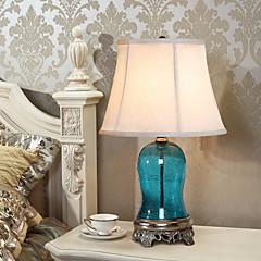 eidehi® Tischlampe mediterranen Stil Malerei Glas