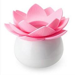 lotus form plast tandstikker box tilfældig farve