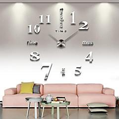 2015 3d große geistige Wohnkultur diy kreative Persönlichkeit Wandtaktgeber für Wohnzimmer 12s015-s