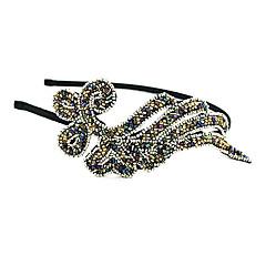 z&x® temperament perle harpiks anlegg hår klut