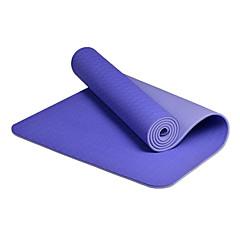 Tapis de Yoga ( Bleu , tpe ) 8.0