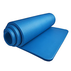15MM NBR Solid Color Fitness Yoga Mat