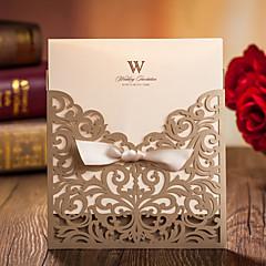 """מותאם אישית הזמנות ומעטפות הזמנות לחתונה כרטיסי הזמנה-20 יחידה / סט / 50 יחידה / סט כרטיס נייר 6""""×6"""" (15*15ס""""מ)"""