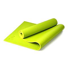 Yoga Mats ( Blåt , pvc ) - 8.0
