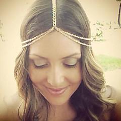 Bohemian Women's Head Chain Jewelry Forehead Dance Headpiece Hair Band