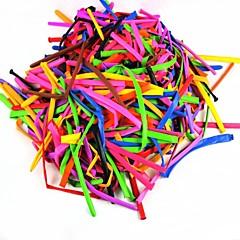 dierlijke het maken van lange langwerpige ballonnen - blue + pink (200 stuks / 150cm)
