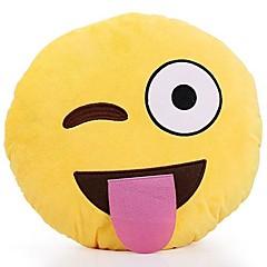 Игрушки Мягкие игрушки Круглый Emoji Специальная модель Необычные игрушки Для мальчиков Для девочек Плюш