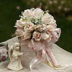 16cm dia bruiloft boeket bruiloft bruid bedrijf bloemen, zijde colth simulatie rosebud