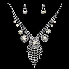Jewelry Set Women's Anniversary / Engagement / Birthday / Party / Special Occasion Jewelry Sets Cubic Zirconia / Alloy Cubic Zirconia