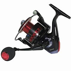 גלילי דיג סלילי טווייה 5.2:1 11 מיסבים כדוריים ניתן להחלפה דיג בים / דיג בחכה / דייג במים מתוקים / דיג כללי / חכות וסירת דיג - KB6000F