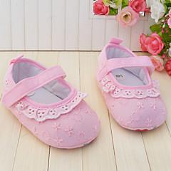 Baby Calçados - Sapatilhas - Rosa - Tecido - Casamento / Social / Casual