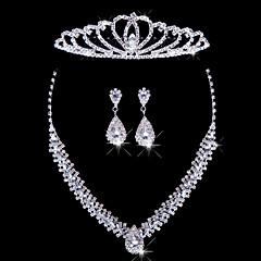 Conjunto de joyas De mujeres Aniversario / Boda / Pedida / Cumpleaños / Regalo / Ocasión especial Sets de Joya AleaciónDiamantes