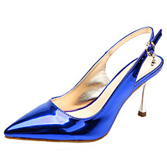 SEXYHER Womens Fashion 3.1 Inches High Heel In Four Color Wedding Party Shoes - BLUE
