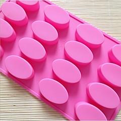 fashoin szilikon szappannal zselés puding tortát díszítő forma konyha tortát bakware főzési eszközök (véletlenszerű szín)