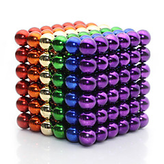 Magnet Toys 216 Pieces 5 MM Magnet Toys Super Strong Rare-Earth Magnets Magnetic Balls Executive Toys Puzzle Cube For Gift