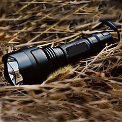UltraFire C8 5モード Cree XR-E Q5 LEDフラッシュライト (1x18650,、ブラック)