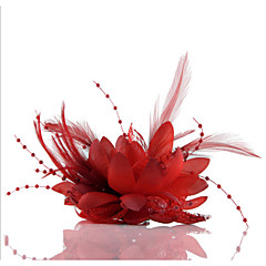 Feather Flower Fascinators for Wedding/Party Headpiece