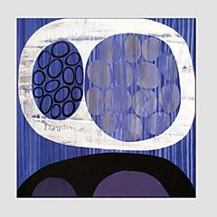 Hånd-malede AbstraktModerne / Europæisk Stil Et Panel Canvas Hang-Painted Oliemaleri For Hjem Dekoration
