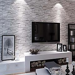 Art Deco Baggrund Moderne Vægbeklædning , PVC/Vinyl Materiale Lim påkrævetRoom Wallcovering