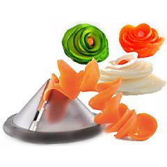 Küchenhelfer kreative Gemüsespiralschneider / Karotte Spiralizer Gemüseschneider (gelegentliche Farbe)