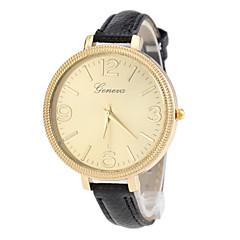circular relógio de quartzo moda feminina (cores sortidas)