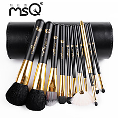 msq® 11black uld makeup børste sæt