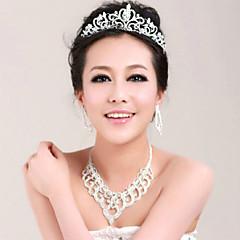 Mulheres Acrilíco Capacete-Casamento Ocasião Especial Tiaras 1 Peça