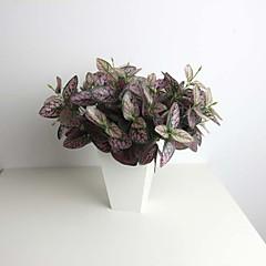 """11.8 """"zes vestigingen paarse Hypoestes phyllostachya kunstmatige planten voor decoratie"""