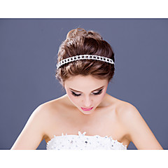 Women's / Flower Girl's Rhinestone / Alloy Headpiece-Wedding / Special Occasion / Casual Headbands 1 Piece Clear
