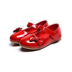 Bez podpatku-Koženka-Pohodlné Light Up botyČerná Růžová Červená Bílá-Outdoor Šaty Běžné-Plochá podrážka