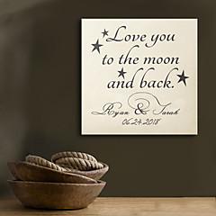 e-HOME® osobní podpis plátno frame-miluji tě