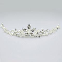 Femme Strass / Alliage / Imitation de perle Casque-Mariage Tiare 1 Pièce