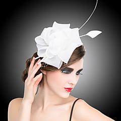 Vrouwen Organza Helm-Bruiloft / Speciale gelegenheden Fascinators / Bloemen / Baret 1 Stuk