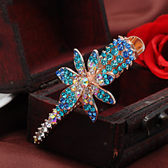 Women Rhinestone/Alloy Causal  Fashion Delicacy  Hair Clip