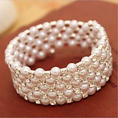 Bracciali Per donna Filo Perle finte Perle finte/Strass