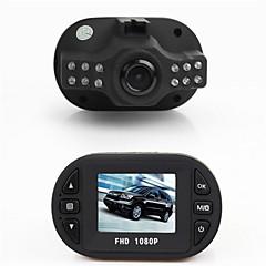 mini-caixa preta 1.5 '' TFT full hd 1080p câmera carro DVR com 12 LED IR de visão noturna